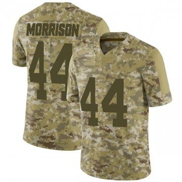 Youth Nike Green Bay Packers Antonio Morrison Camo 2018 Salute to Service Jersey - Limited