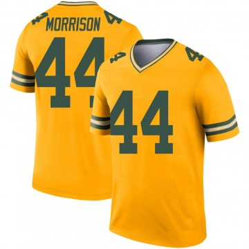 Youth Nike Green Bay Packers Antonio Morrison Gold Inverted Jersey - Legend