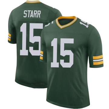 Youth Nike Green Bay Packers Bart Starr Green 100th Vapor Jersey - Limited