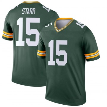 Youth Nike Green Bay Packers Bart Starr Green Jersey - Legend