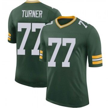Youth Nike Green Bay Packers Billy Turner Green 100th Vapor Jersey - Limited