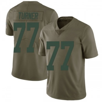 Youth Nike Green Bay Packers Billy Turner Green 2017 Salute to Service Jersey - Limited