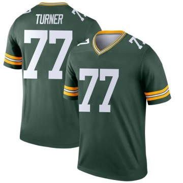 Youth Nike Green Bay Packers Billy Turner Green Jersey - Legend