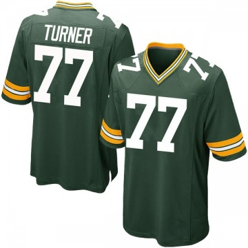 Youth Nike Green Bay Packers Billy Turner Green Team Color Jersey - Game