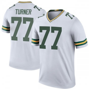 Youth Nike Green Bay Packers Billy Turner White Color Rush Jersey - Legend