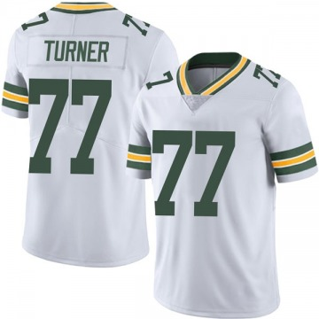 Youth Nike Green Bay Packers Billy Turner White Vapor Untouchable Jersey - Limited