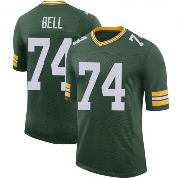 Youth Nike Green Bay Packers Byron Bell Green 100th Vapor Jersey - Limited