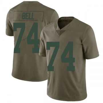 Youth Nike Green Bay Packers Byron Bell Green 2017 Salute to Service Jersey - Limited