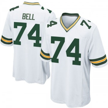 Youth Nike Green Bay Packers Byron Bell White Jersey - Game