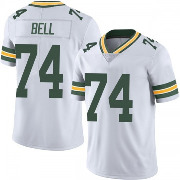 Youth Nike Green Bay Packers Byron Bell White Vapor Untouchable Jersey - Limited