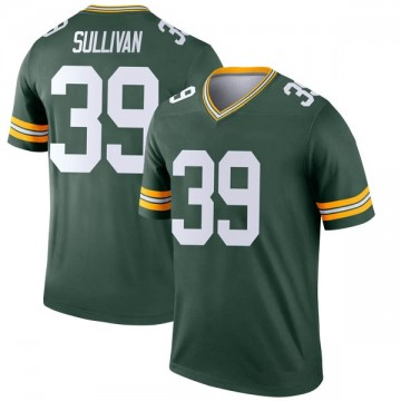 Youth Nike Green Bay Packers Chandon Sullivan Green Jersey - Legend