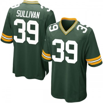 Youth Nike Green Bay Packers Chandon Sullivan Green Team Color Jersey - Game