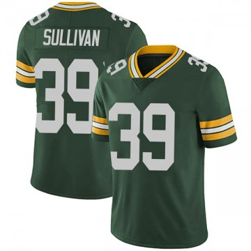 Youth Nike Green Bay Packers Chandon Sullivan Green Team Color Vapor Untouchable Jersey - Limited
