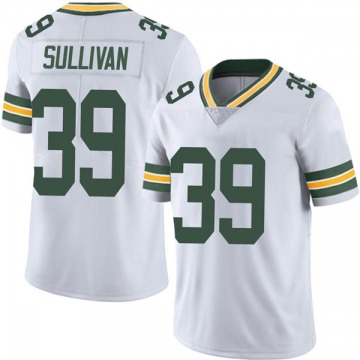 Youth Nike Green Bay Packers Chandon Sullivan White Vapor Untouchable Jersey - Limited