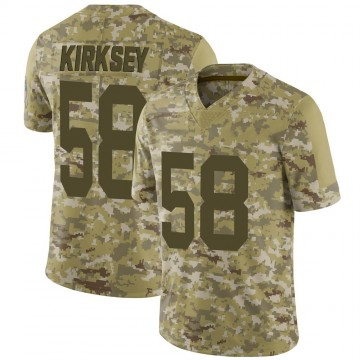 Youth Nike Green Bay Packers Christian Kirksey Camo 2018 Salute to Service Jersey - Limited