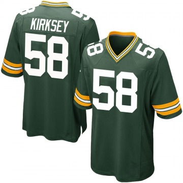 Youth Nike Green Bay Packers Christian Kirksey Green Team Color Jersey - Game