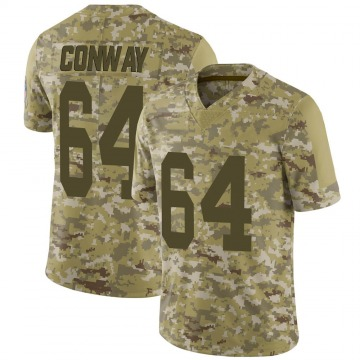 Youth Nike Green Bay Packers Cody Conway Camo 2018 Salute to Service Jersey - Limited