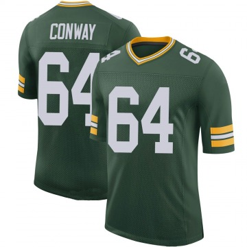 Youth Nike Green Bay Packers Cody Conway Green 100th Vapor Jersey - Limited