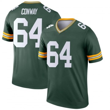 Youth Nike Green Bay Packers Cody Conway Green Jersey - Legend