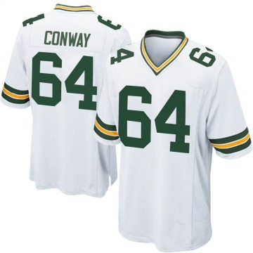 Youth Nike Green Bay Packers Cody Conway White Jersey - Game