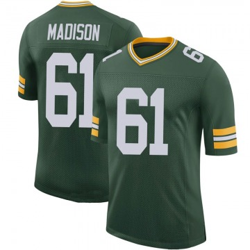 Youth Nike Green Bay Packers Cole Madison Green 100th Vapor Jersey - Limited
