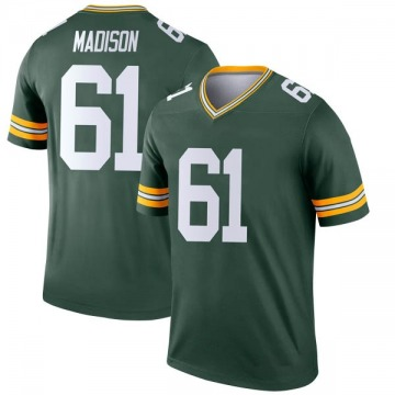Youth Nike Green Bay Packers Cole Madison Green Jersey - Legend