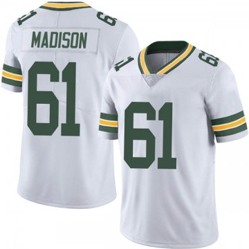 Youth Nike Green Bay Packers Cole Madison White Vapor Untouchable Jersey - Limited