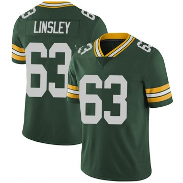 Youth Nike Green Bay Packers Corey Linsley Green Team Color Vapor Untouchable Jersey - Limited