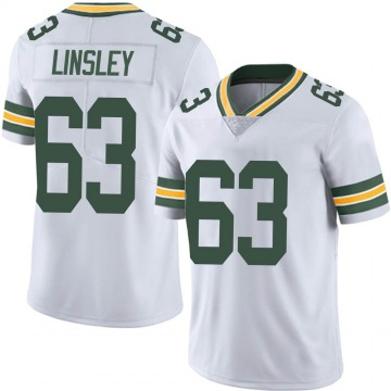 Youth Nike Green Bay Packers Corey Linsley White Vapor Untouchable Jersey - Limited