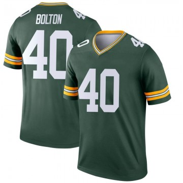 Youth Nike Green Bay Packers Curtis Bolton Green Jersey - Legend