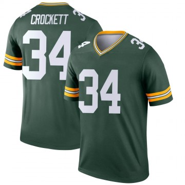 Youth Nike Green Bay Packers Damarea Crockett Green Jersey - Legend