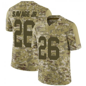 Youth Nike Green Bay Packers Darnell Savage Jr. Camo 2018 Salute to Service Jersey - Limited