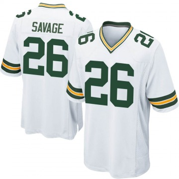 Youth Nike Green Bay Packers Darnell Savage Jr. White Jersey - Game