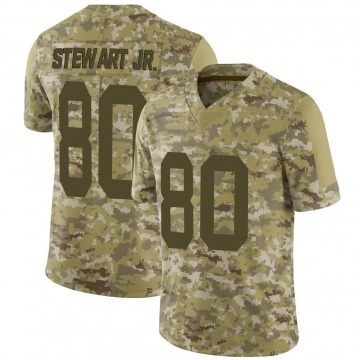 Youth Nike Green Bay Packers Darrell Stewart Jr. Camo 2018 Salute to Service Jersey - Limited