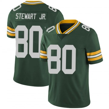Youth Nike Green Bay Packers Darrell Stewart Jr. Green Team Color Vapor Untouchable Jersey - Limited