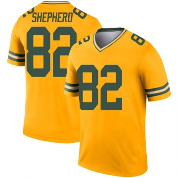 Youth Nike Green Bay Packers Darrius Shepherd Gold Inverted Jersey - Legend