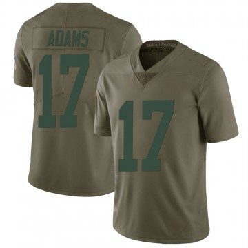 Youth Nike Green Bay Packers Davante Adams Green 2017 Salute to Service Jersey - Limited