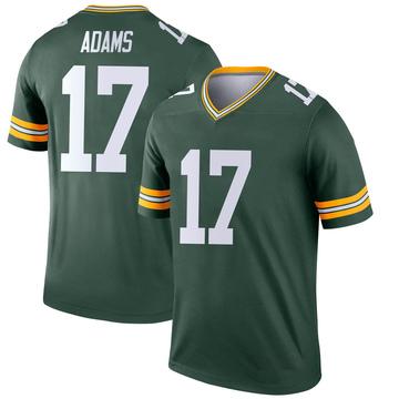 Youth Nike Green Bay Packers Davante Adams Green Jersey - Legend