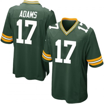 Youth Nike Green Bay Packers Davante Adams Green Team Color Jersey - Game