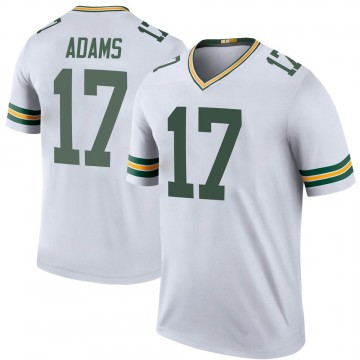 Youth Nike Green Bay Packers Davante Adams White Color Rush Jersey - Legend