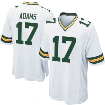 Youth Nike Green Bay Packers Davante Adams White Jersey - Game