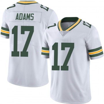 Youth Nike Green Bay Packers Davante Adams White Vapor Untouchable Jersey - Limited