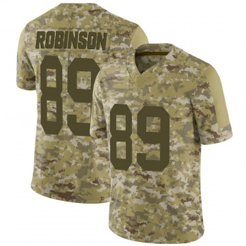 Youth Nike Green Bay Packers Dave Robinson Camo 2018 Salute to Service Jersey - Limited