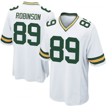Youth Nike Green Bay Packers Dave Robinson White Jersey - Game