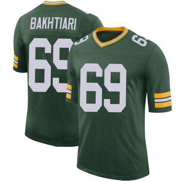 Youth Nike Green Bay Packers David Bakhtiari Green 100th Vapor Jersey - Limited
