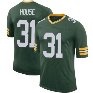 Youth Nike Green Bay Packers Davon House Green 100th Vapor Jersey - Limited