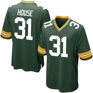 Youth Nike Green Bay Packers Davon House Green Team Color Jersey - Game