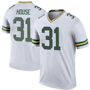 Youth Nike Green Bay Packers Davon House White Color Rush Jersey - Legend