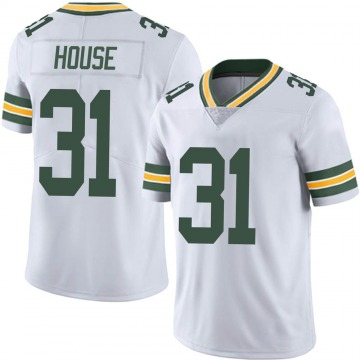 Youth Nike Green Bay Packers Davon House White Vapor Untouchable Jersey - Limited