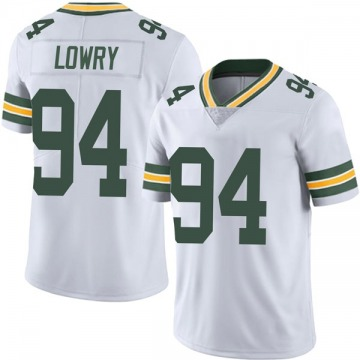Youth Nike Green Bay Packers Dean Lowry White Vapor Untouchable Jersey - Limited